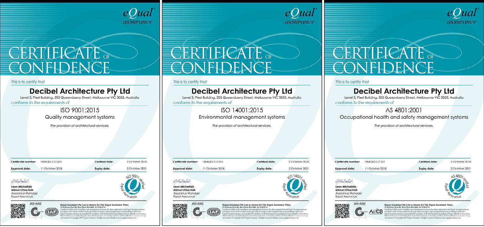 ISO Certificates 3-up